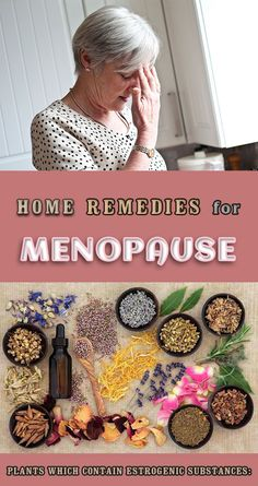 Natural treatments to relief menopause symptoms Natural Remedies For Menopause, Natural Headache Remedies, Herbal Remedies, Health Remedies, Menopause Diet, Menopause Symptoms, Low Estrogen, Natural Treatments, Natural Health