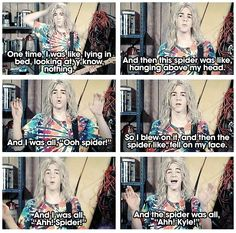 It's, like Totally Kyle!