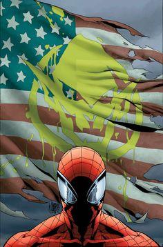 SUPERIOR SPIDER-MAN #27.NOW DAN SLOTT (W) • GIUSEPPE CAMUNCOLI (A/C) Variant Cover by Mark Brooks