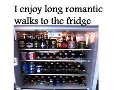 long walk to fridge