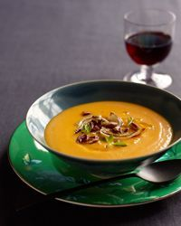 Red Kuri Squash Soup Recipe from Food & Wine