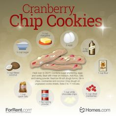 If you like #cranberries and white #chocolate chips, then you will love these cranberry white chocolate chip #cookies!