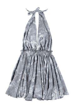 Halter Mini Dress | LoveShackFancy