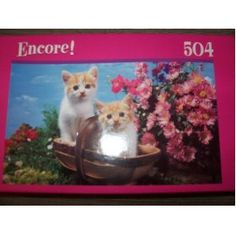 Encore 500 piece puzzle Twin Kittens
