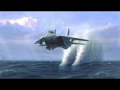 【衝撃】カメラが捉えた戦闘機のハイスピード映像! 「音速突破か!?」 - YouTube
