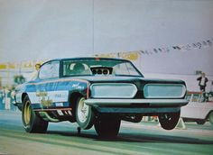 Candies & Hughes Plymouth Barracuda AA/FC Funny Car