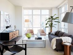 One Tiny Living Room, 3 Ways to Decorate via @MyDomaine