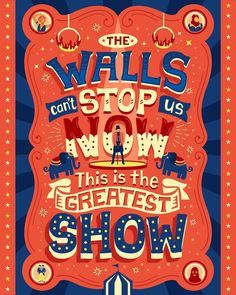The Greatest Showman - Hand Lettering by Risa Rodil