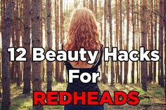 <b>Make your red locks even more fabulous than they already are!</b>