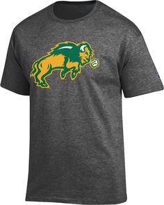 c02e5d9bcd42e Champion Men s North Dakota State Bison Grey Big Soft T-Shirt