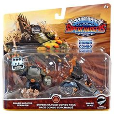 "Skylanders SuperChargers Combo Pack - Shark Shooter Terrafin and Shark Tank - Activision - Toys ""R"" Us"