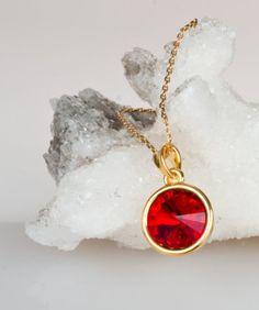 Juego Swarovski Color Rojo Pasión – Modelo SW007 Gossip Collection 3