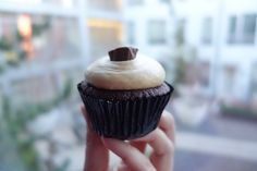 Peanut Butter Cup Cupcake by We The Minis.