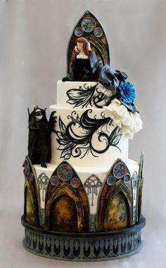 Phantom of the opera cake