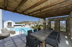 Pearl is a 3 bedroom Villa in Ornos and is part of Diles Villas and vacation rentals on Mykonos island. Luxury Villas In Greece, Mykonos Villas, Vacation Villas, Vacation Destinations, Mykonos Town, Mykonos Island, Villa With Private Pool, Luxury Villa Rentals, Pergola