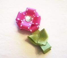 Вдохновлялки - Подборка заколок для девочек из репсовых лент - Репсовые и атласные ленты, все для создания Ваших шедевров
