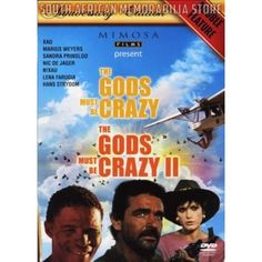 Jamie Uys - Gods Must Be Crazy 1 and 2 - South African Comedy Boxset *New* - South African Memorabilia Store