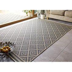 Black /& Cream 27 x 45 Inches TreeWool Decorative Mat Area Accent Rug Kaleidoscope Design 100/% Cotton Flat Weave