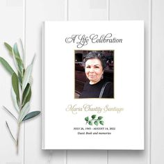 A hard bound funeral guest book where you can save the guest registry at a memorial service, funeral or a celebration of life. Personalized for you.