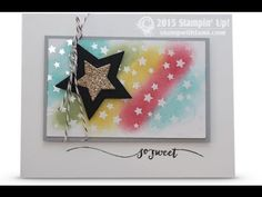 VIDEO: Irresistibly Yours Specialty Paper Rainbow of Stars | Stampin Up Demonstrator - Tami White - Stamp With Tami Crafting and Card-Making Stampin Up blog