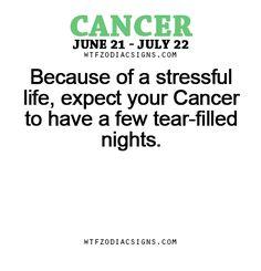 Cancer - WTF Zodiac Signs Daily Horoscope! - fun zodiac signs fact