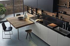 kitchen circulation linear kitchen - Google 搜尋