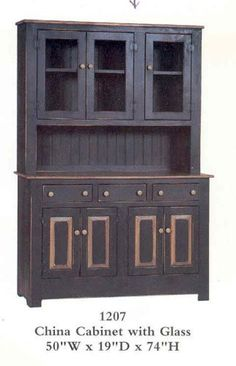 amish country kitchen cabinets | ... cabinet hutch amish built ...