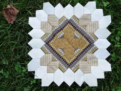 MyLifeIsAStitch.blogspot.com  Lucy Boston Patchwork of the Crosses Sept. 2014