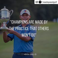 #Repost @headspeedgolf  Congratulations to @siwookim95 for winning the @theplayerschamp - at 21 Si Woo Kim is the youngest to ever win the tournament an inspiring story and a great overall weekend of golf! #mindsetmonday