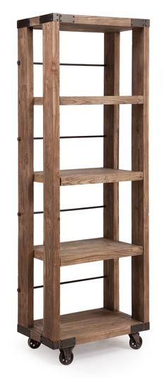 Kesler 4 Level Shelf Distressed Natural