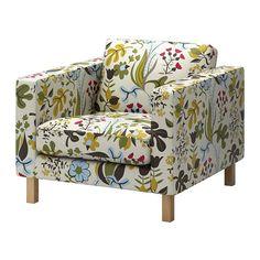 KARLSTAD Fåtölj IKEA Ett urval av koordinerade klädslar gör att du lätt kan förnya utseendet på din möbel.