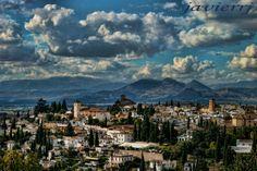 albayzin desde la colina roja