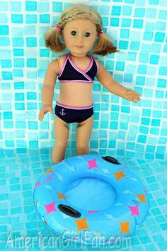 kit at the pool