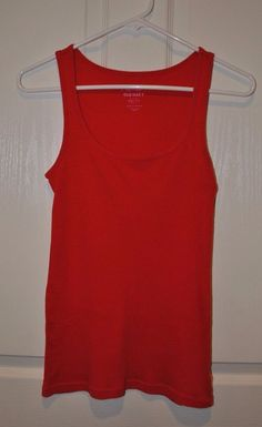 Old Navy Women's Cherry Ribbed Tank Top Size XS  #OldNavy #TankCami #Casual
