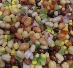 5 Bean Salad. Healthy side dish. I plan on making it tonight!