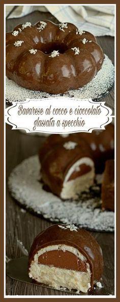 Deve essere buonissima !! Homemade Birthday Cakes, Homemade Cakes, Flan, Custard Cake, Gingerbread Cake, Brownie Cake, Chocolate Treats, Yummy Cakes, No Bake Cake