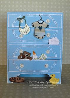 CTMH Baby Steps stamp. Isn't That Sweet?!: Baby, Baby, Baby