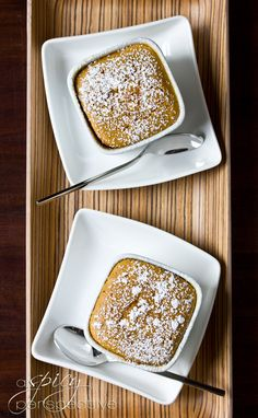 REAL Sweet Potato Souffles for Thanksgiving | ASpicyPerspective.com #thanksgiving #recipes #sweetpotato
