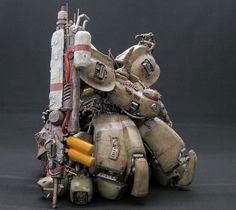 Robots Characters, Gundam Custom Build, Robot Design, Gundam Model, Mobile Suit, Design Reference, Sculptures, Miniatures, Concept