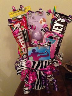 9 year old birthday gift basket