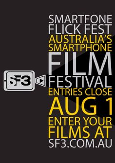 Want to make a movie? All you need is your phone! The SmartFone Flick Fest (SF3) is now calling for entries for Australia's only dedicated smartphone film festival. Now in it's second year, SF3 is …
