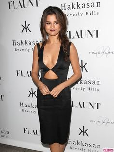 Ow ow!! Selena Gomez gets sexified for her Flaunt Magazine cover launch party.
