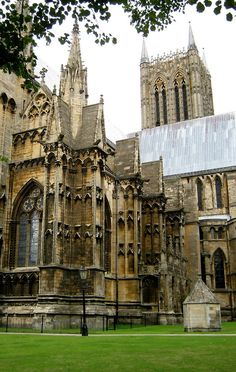 Ancient Cathedral, Lincoln, England photo via theartstudent
