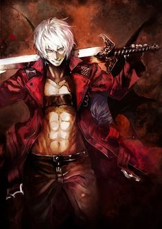 "Dante ""Devil May Cry"" Sassiest, funniest half demon I've ever seen. But why do all half demons have daddy problems??"