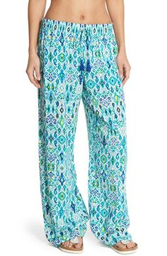 Tommy Bahama Ikat Print Beach Pants available at #Nordstrom