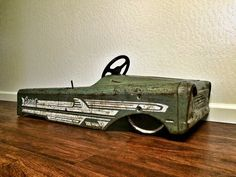 Lowered pedal car