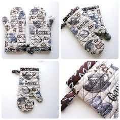 Free Sewing Pattern for Long Arm Oven Mitts