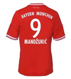Maillot de Foot Bayern Munich (9 Mandzukic) Domicile Adidas Collection 2013 2014 rouge Pas Cher http://www.korsel.net/maillot-de-foot-bayern-munich-9-mandzukic-domicile-adidas-collection-2013-2014-rouge-pas-cher-p-2401.html