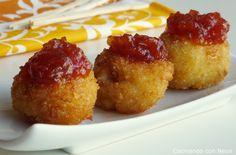 Cocinando con Neus: Bolitas de camembert