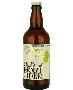 Old Mout Kiwi and Lime Cider
